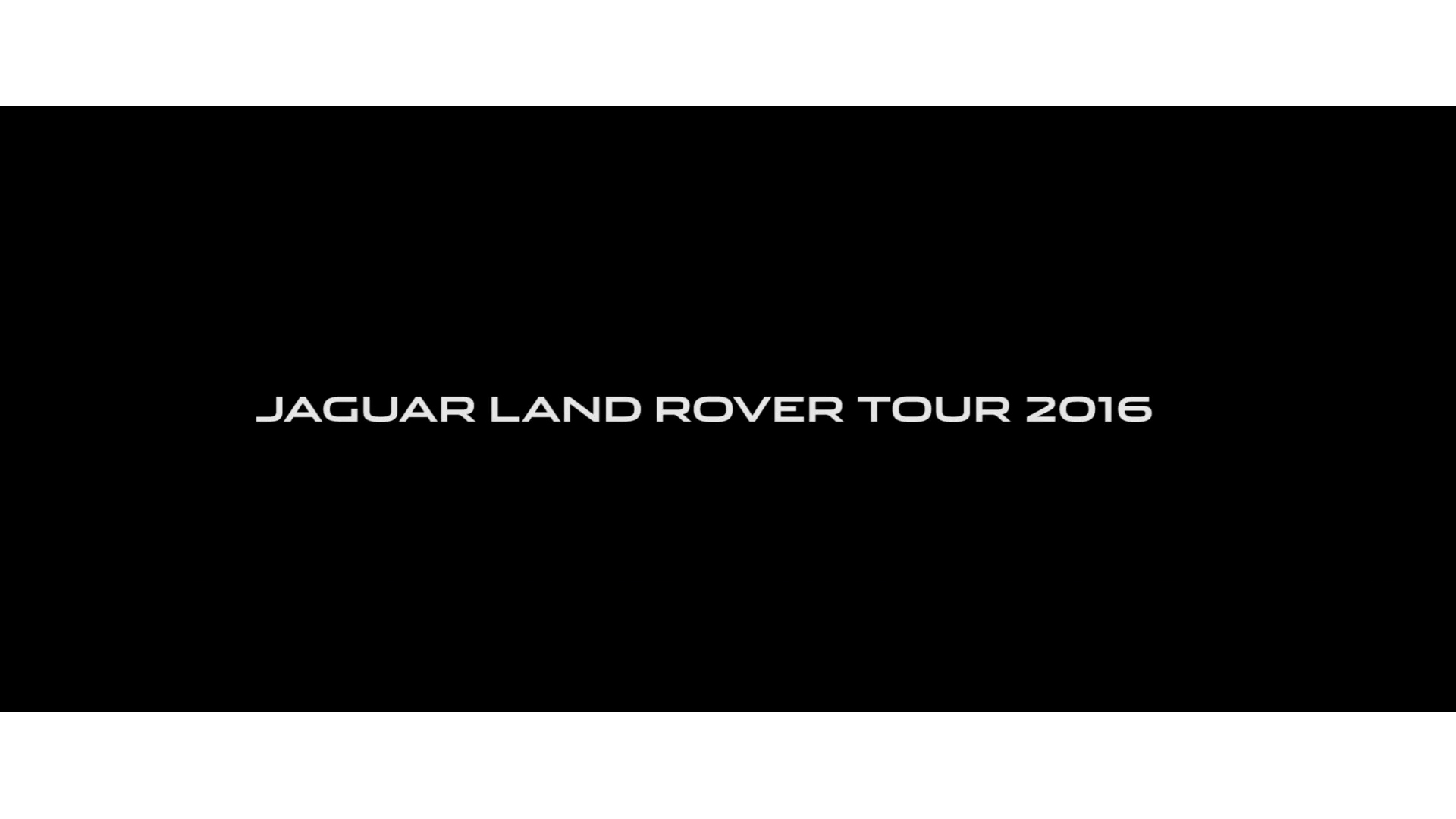 "Jaguar Land Rover ""Tour - Kazan 2016"""