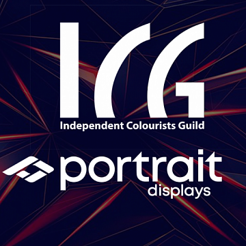 Portrait Displays and ICG - partners